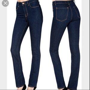 J Brand Jeans sz 27 Straight Leg Medium Wash
